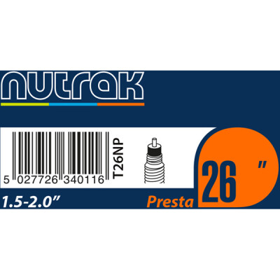 Nutrak Tube Nutrak 26X1.5-2.0 Presta