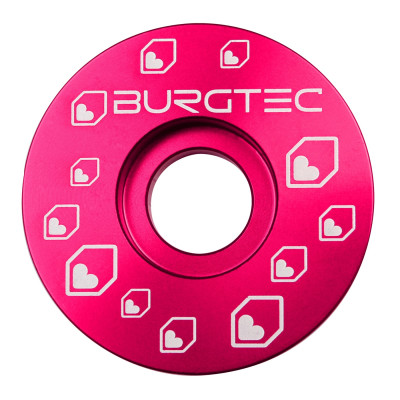 Burgtec Top Cap Logo