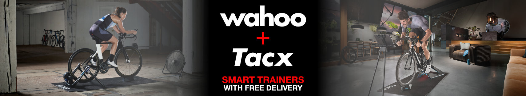 Wahoo + Tacx Smart Trainers with Free Delivery