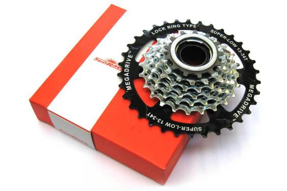 Sunrace 7 Speed Megarange Freewheel