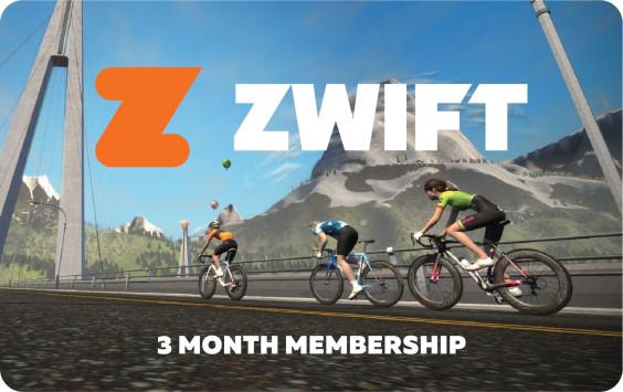 Zwift 3 Month Zwift Membership