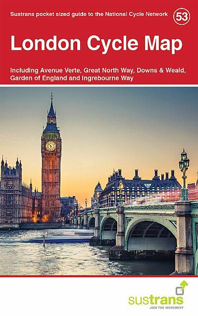 Cordee London Cycle Map