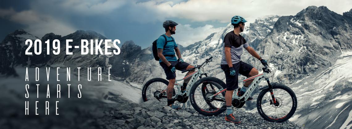 2019 E-Bikes - Adventure Starts Here