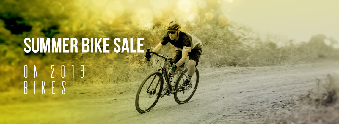 Summer Bike Sale - on 2018 bikes