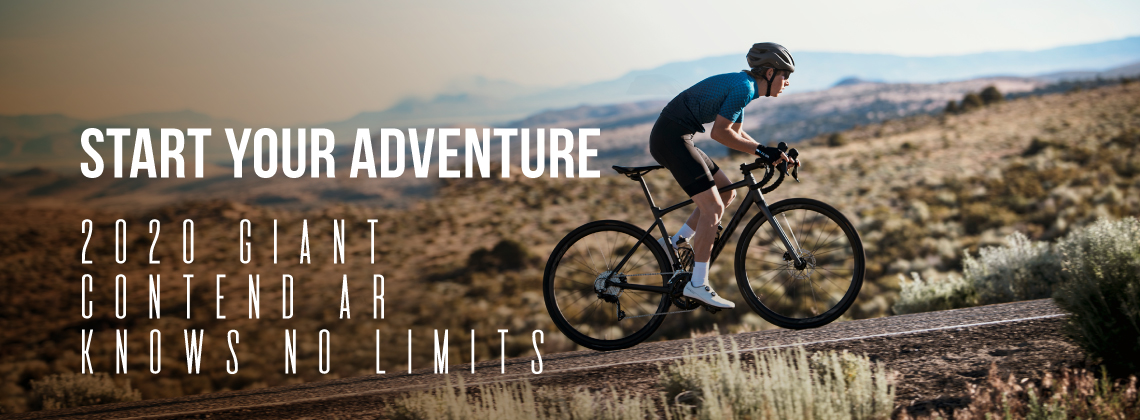 Start Your Adventure - 2020 Giant Contend AR - Knows no Limits