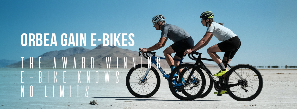 Orbea Gain E-Bikes - The Award Winning E-Bike Knows No Limits