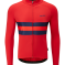 Chapeau! Tempo Ii Hoop Stripe Thermal Jersey S Devon Red