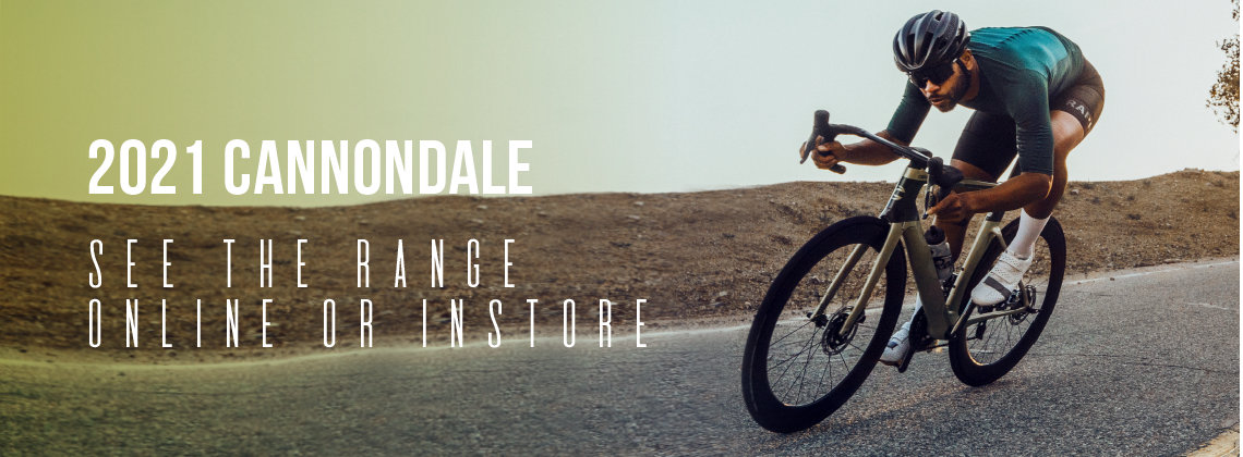 2021 Cannondale - See the Range Online or In-Store