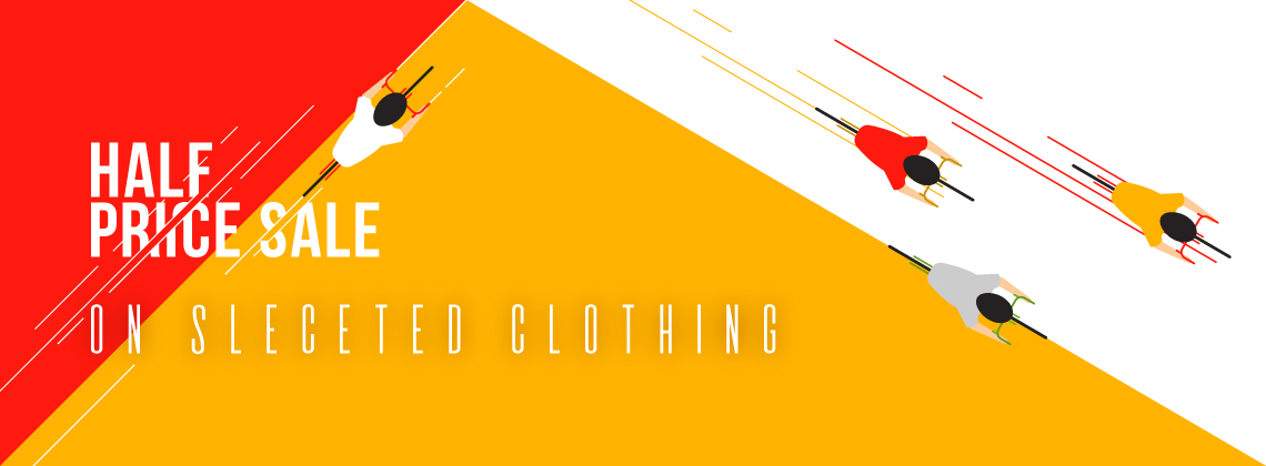 Half Price Sale on Selected Clothing