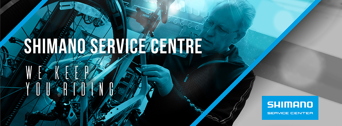Shimano Service Centre - We Keep You Riding