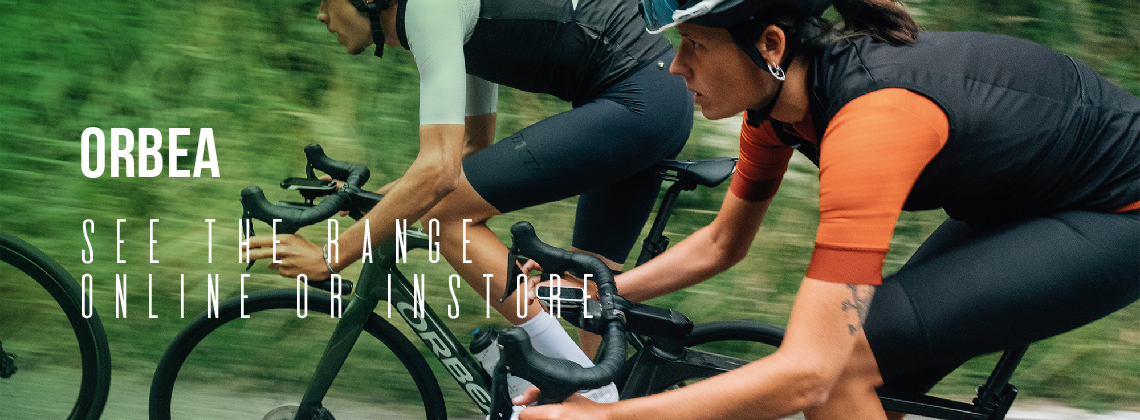 Orbea; See the Range Online or Instore