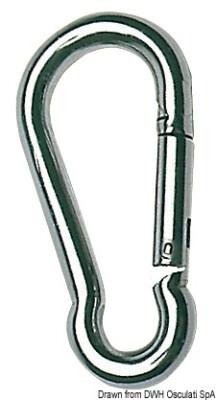 Carabiner Hook No Eye S/S
