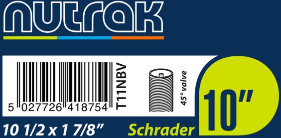 Nutrak 10 1/2 X 1 7/8  Schrader 45° Valve