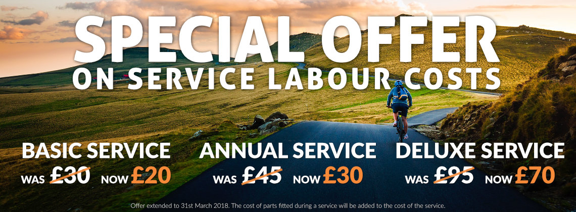Special Offer on Service Labour Costs