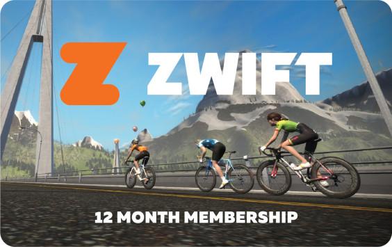 Zwift 12 12 Month Card