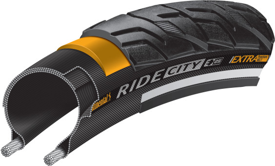 Continental Tyre700X37 Ridecity R/Flex