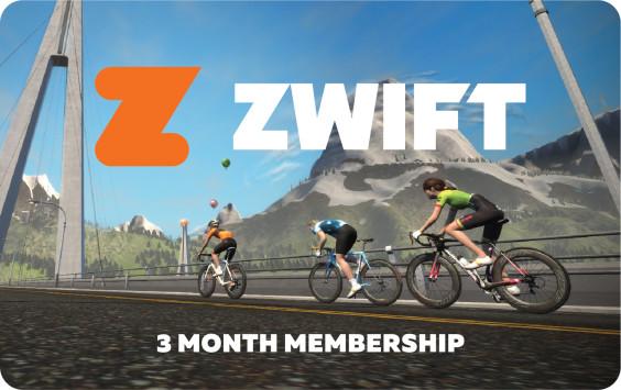 Zwift 3 3 Month Card