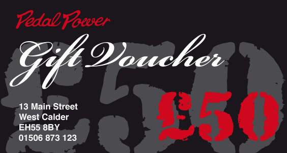 Pedalpower £10 Gift Voucher