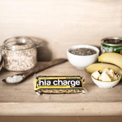 Chia Charge Energy Flapjack Banana