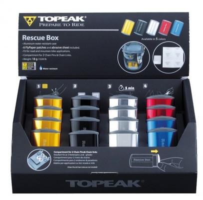 Topeak Topeak Rescue Box Puncture Repair Kit