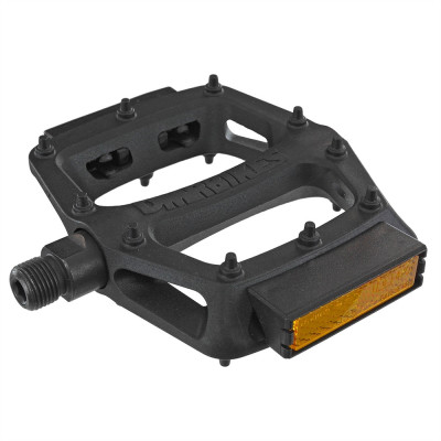 Dmr Bikes V6 Plastic Flat Pedals With Reflector