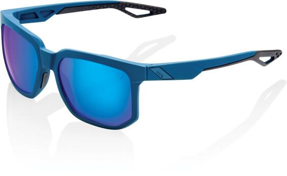 Onehundredpercent Centric Glasses Soft Tack Blue / Blue Mirror Lens