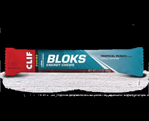 Clif Bloks Energy Chews Tropical