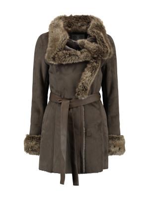 Rino & Pelle Coat Faux Suede / Fur