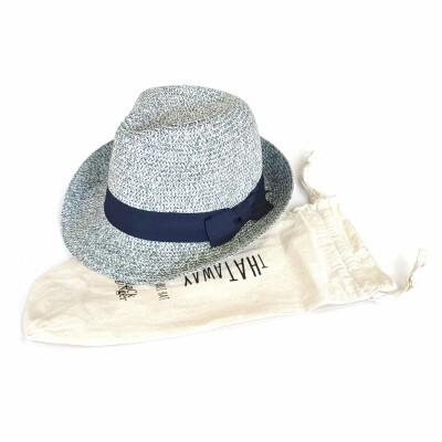 Black Ginger Hat In Bag Tribly Speckled Blue