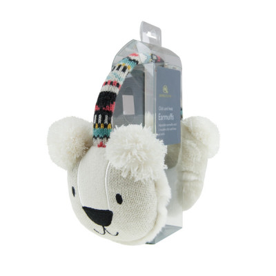 Aroma Home Ear Muffs Polar Bear