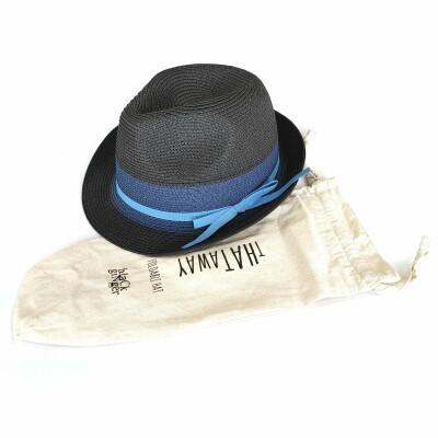 Black Ginger Hat In Bag Tribly Dark Blue