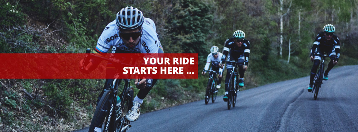 Your ride starts here …