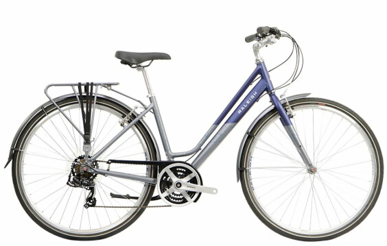 Raleigh Pioneer Tour Low Step Frame Blue/Silver